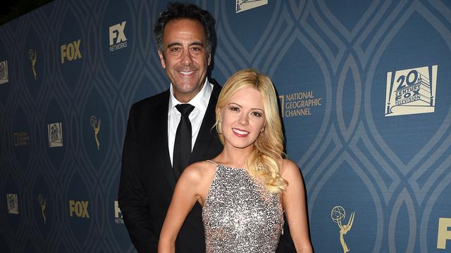 Brad Garrett and Isabella Quella. (Fox)
