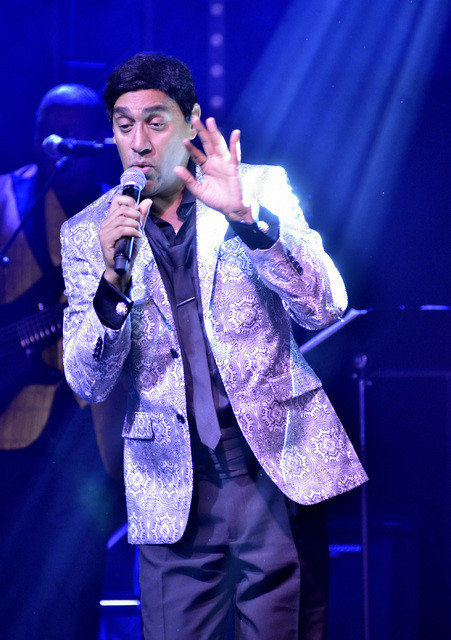 Talmadge Pearsall performs as Smokey Robinson in Solid Gold Soul in the Windows Showroom at Bally's hotel-casino at 3645 Las Vegas Blvd. South in Las Vegas on Sunday, Oct. 30, 2016. Bill Hughes/La ...