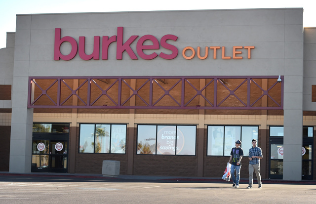 1e461b83db73a Nationwide discount chain Burkes plans three Las Vegas Valley stores ...
