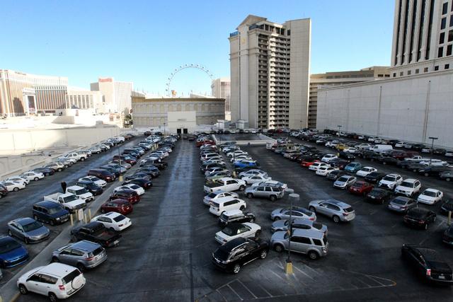 caesars palace las vegas parking fee