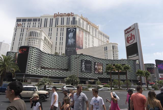 Planet Hollywood hotel-casino in Las Vegas.( Jason Ogulnik/Las Vegas Review-Journal)