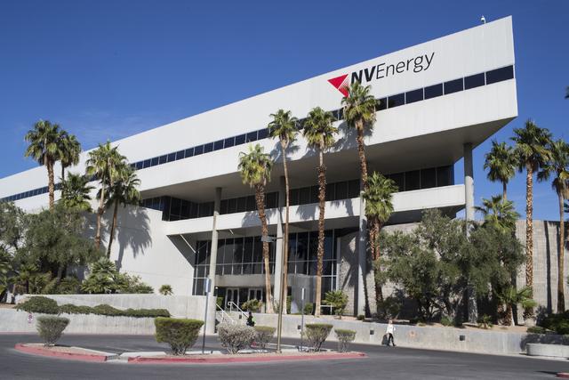 NV Energy in Las Vegas on Wednesday, Oct. 26, 2016. (Loren Townsley/Las Vegas Review-Journal) Follow @lorentownsley