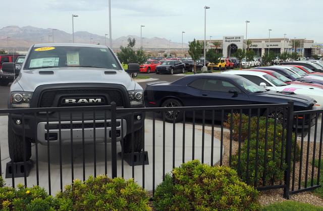 Las Vegas Car Dealerships >> Car Dealerships Flock To Southwest Las Vegas Valley Las