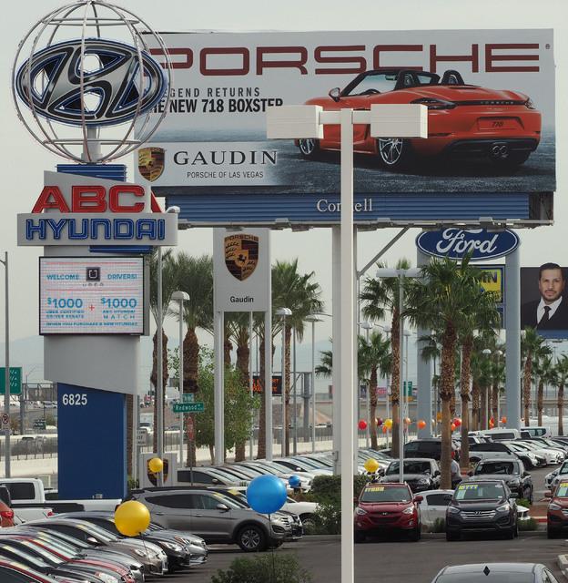 car dealerships flock to southwest las vegas valley las vegas. Cars Review. Best American Auto & Cars Review