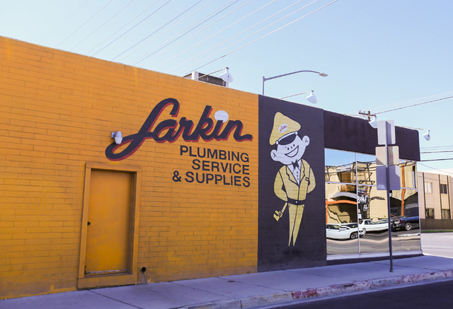 The Larkin Plumbing storefront is located at 1801 South Industrial Road in Las Vegas on Thursday, Nov. 3, 2016. Brett Le Blanc/Las Vegas Review-Journal Follow @bleblancphoto