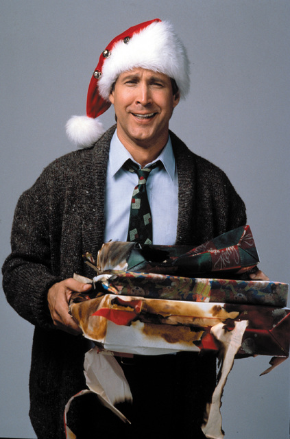 """NATIONAL LAMPOON'S CHRISTMAS VACATION - The comic misadventures of the beleaguered Griswold family continue as Clark (Chevy Chase) is determined to create """"the most fun-filled old fashion ..."""