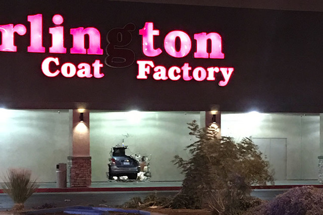 a260a836086 Three people hospitalized after vehicle crashes into Las Vegas store ...