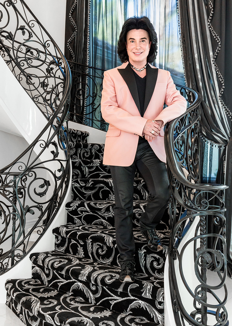 "David Reisman/Real Estate Millions Frank Marino, star of ""Divas Las Vegas"" moved into his new home last month."