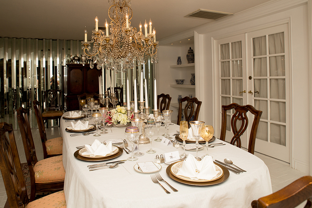 The dining room. (Tonya Harvey/Real Estate Millions)