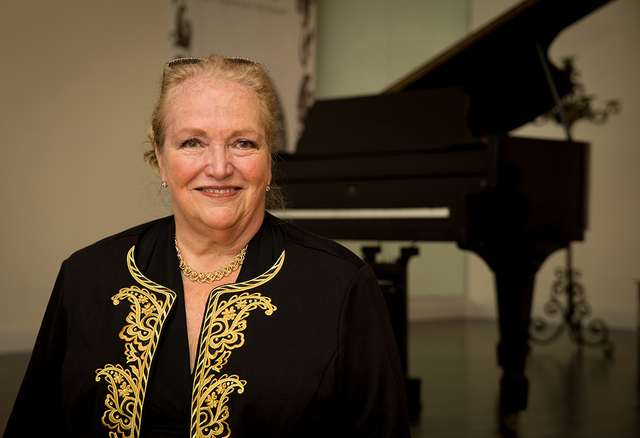 Hilde Lindstrom from Pennsylvania helped plan the fan trip. (Tonya Harvey/Real Estate Millions)