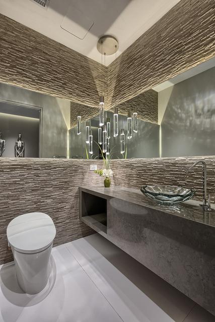 Courtesy of Rahimi Designs The bathroom of Unit No. 4102.