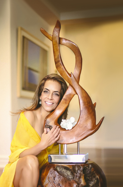 COURTESY Sculptor Dorit Schwartz's collection, called The Light Within, is showcased at Ascaya, a luxury community in Henderson.