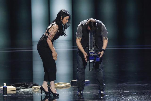 AmberLynn Walker and Ryan Stock from America's Got Talent (Vivian Zink/NBC)