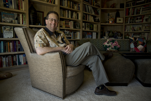 UNLV history professor Michael Green poses for a photograph inside his home near Tropicana Avenue and Pecos Road in Las Vegas on Friday, Feb. 26, 2016. Daniel Clark/Las Vegas Review-Journal Follow ...