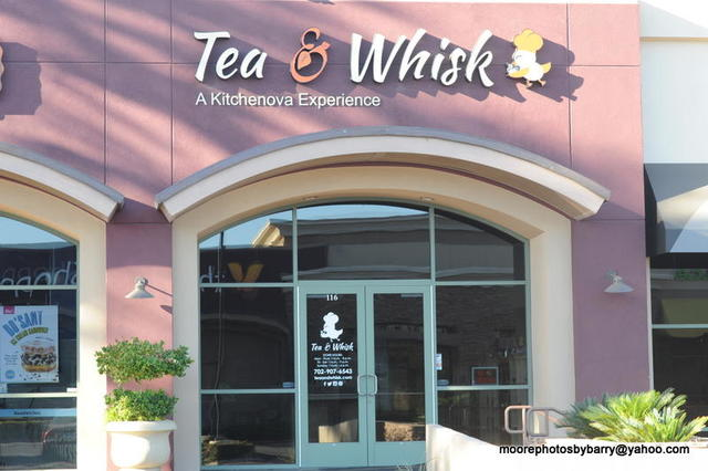 Tea & Whisk opened in Henderson in October at 10271 S. Eastern Ave., Suite 116. Barry Moore, Moore Photos by Barry/Special to View