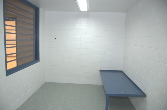 "The holding cell, or ""last night cell"" where the inmate is kept before the execution on Nov. 10, 2016. Courtesy the Nevada Department of Corrections"