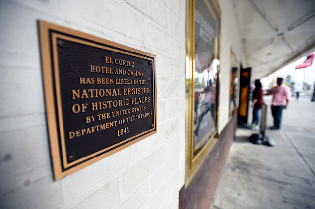 The El Cortez hotel-casino has been listed in the National Register of Historic Places.  The family-owned downtown institution is celebrating its 75th anniversary. It originally opened in 1941. Th ...