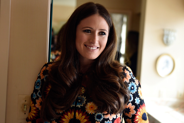Hotel co-owner Alexandra Epstein Gudai tours the Jackie Gaughan Suite at the El Cortez, Thursday, Oct. 27, 2016, in Las Vegas. The family-owned downtown hotel-casino will be celebrating its 75th a ...