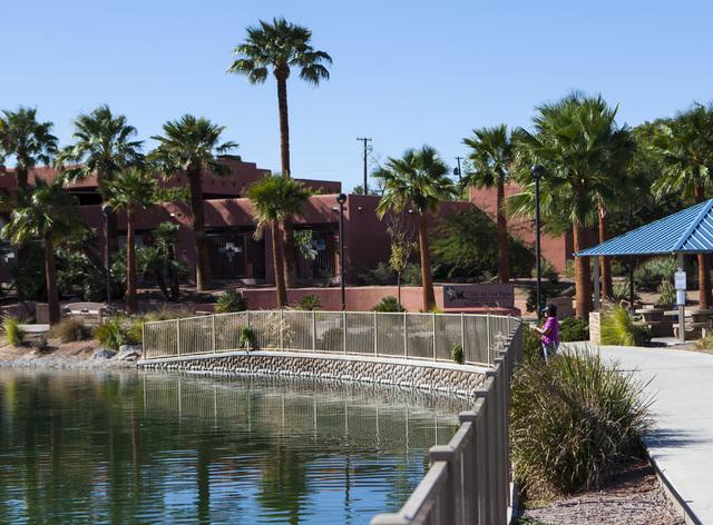 Fishing Derby At Lorenzi Park Lake Video Las Vegas