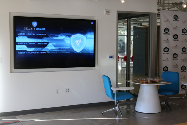 The University of Phoenix opened the RedFlint experience center Oct. 13 in the Bank of America Plaza building. It is a business incubator, a community education center and a startup accelerator pa ...