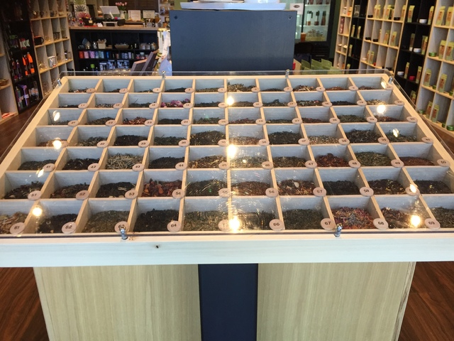 Guests will find a variety of loose-leaf teas at Tea & Whisk in Henderson. Michael Lyle/View