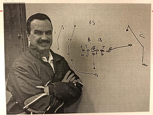 This April 29, 1994 file photo shows UNLV football coach Jeff Horton. Wayne Kodey/Las Vegas Review-Journal