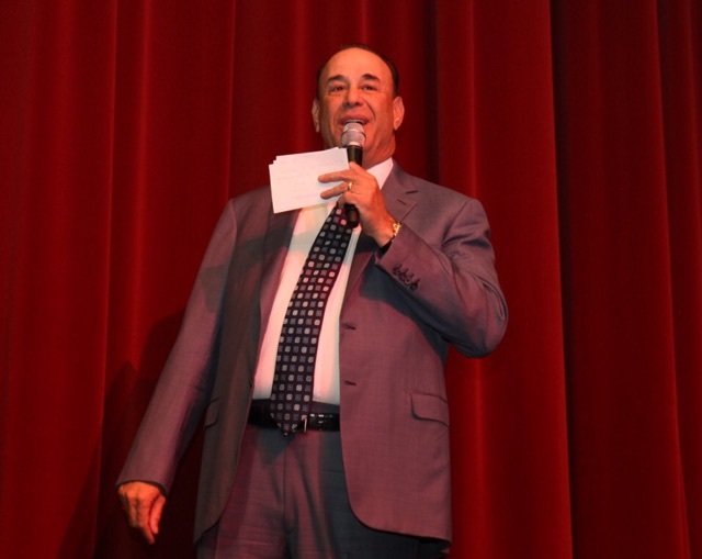 """Bar Rescue"" host Jon Taffer is shown Friday night at the 50th anniversary gala for St. Jude's Children's Ranch. (Tony Harvey photo)."