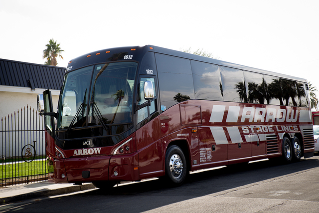 About 30 Liberace fans took a bus to see his former Las Vegas home. (Tonya Harvey/Real Estate Millions)