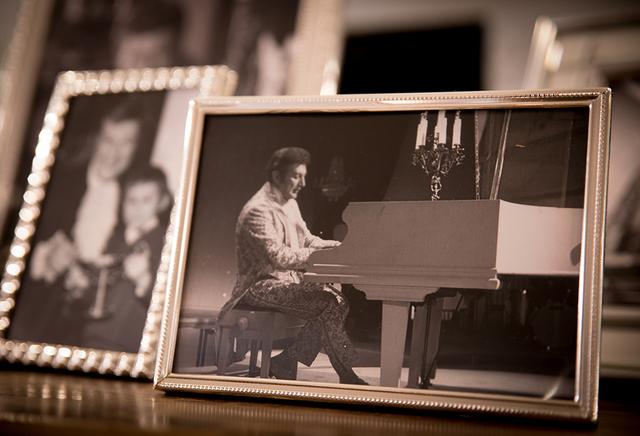 Photos of Liberace at his former Las Vegas home. (Tonya Harvey/Real Estate Millions)