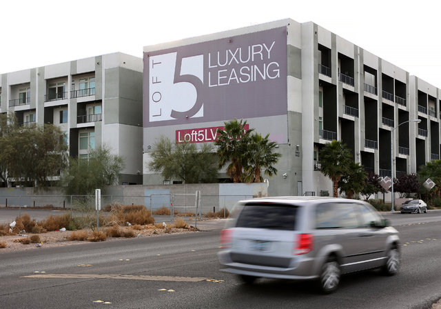 Loft 5 on 2715 W. Pebble Road in Las Vegas on Wednesday, Nov. 30, 2016. (David Guzman/Las Vegas Review-Journal Follow @DavidGuzman1985)
