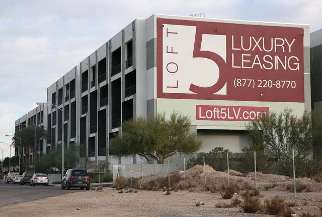 Loft 5 on 2715 W. Pebble Road in Las Vegas on Wednesday, Nov. 30, 2016. (David Guzman/Las Vegas Review-Journal Follow @DavidGuzman1985)