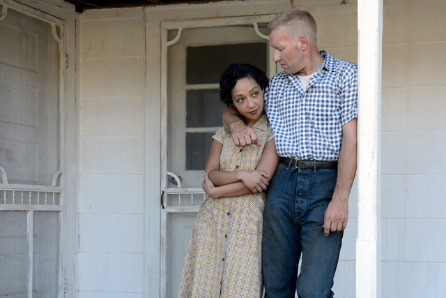 """Ruth Negga and Joel Edgerton star in """"Loving,"""" the story of a couple charged with violating Virginia's Racial Integrity Act in 1958 and the changes in American culture that followed.  Credit : Ben ..."""