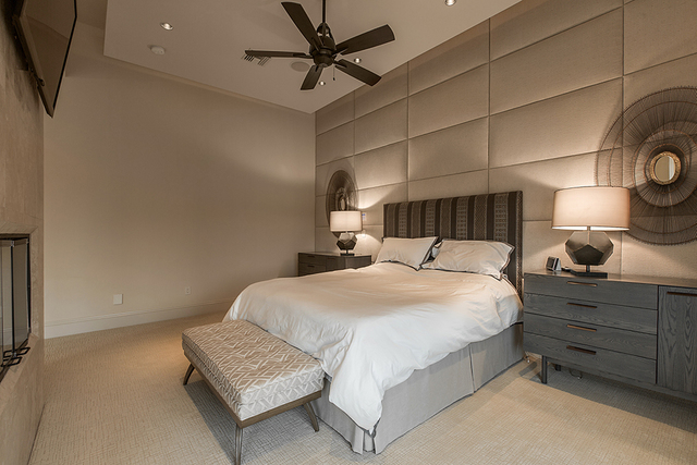 The master bedroom. (Courtesy)