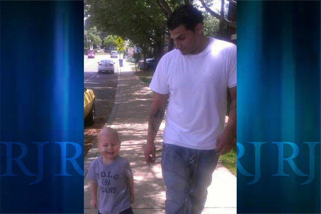 Matthew Bernardi (right) with his cousin Joshua, who was diagnosed with leukemia in 2012. (John Bernardi)
