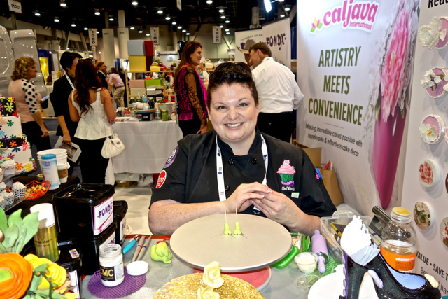 Michelle Curran was a featured cake designer at the Caljava International Inc. booth at the 2016 International Baking Industry Exposition held at the Las Vegas Convention Center in October. Specia ...