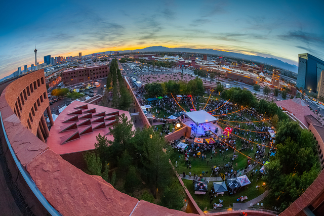 More than 4,000 craft beer fans attended the fifth annual Motley Brews' Downtown Beer Festival Oct. 22, 2016 at Clark County Amphitheater. Over 60 local, national and international brewerie ...