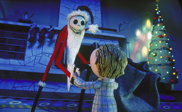 TIM BURTON'S THE NIGHTMARE BEFORE CHRISTMAS - Jack Skellington (Danny Elfman & Chris Sarandon), Halloweentown's beloved Pumpkin King, is obsessed with bringing Christmas under his control and  ...