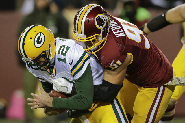Image result for Ryan kerrigan vs green bay