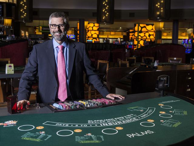 Incoming Palms President Michael Jerlecki poses for a photo on Friday, Nov. 11, 2016, in Las Vegas. Benjamin Hager/Las Vegas Review-Journal
