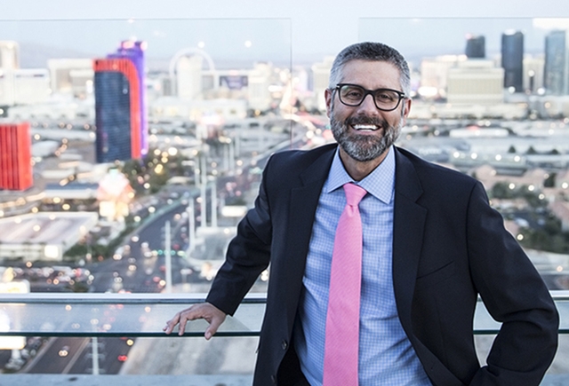 Palms General Manager Michael Jerlecki poses for a photo on Friday, Nov. 11, 2016, in Las Vegas. (Benjamin Hager/Las Vegas Review-Journal)