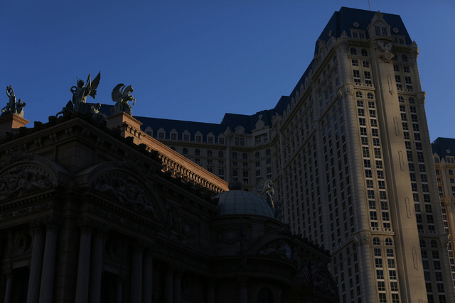 The Paris Las Vegas on Friday, Nov. 4, 2016. (Brett Le Blanc/Las Vegas Review-Journal Follow @bleblancphoto)
