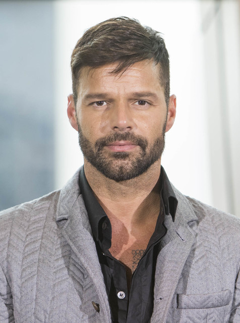 International Superstar Ricky Martin speaks during a press conference announcing his Las Vegas residency at Park