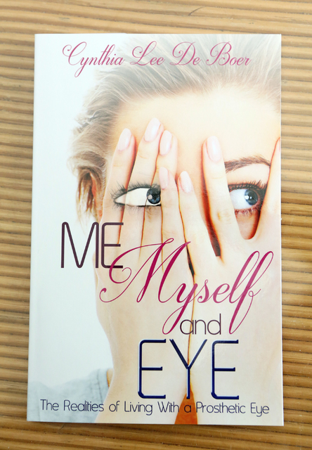 "Cynthia De Boer's book ""Me, Myself & Eye"" is shown, Wednesday, Oct. 12, 2016. Ronda Churchill/Las Vegas Review-Journal"