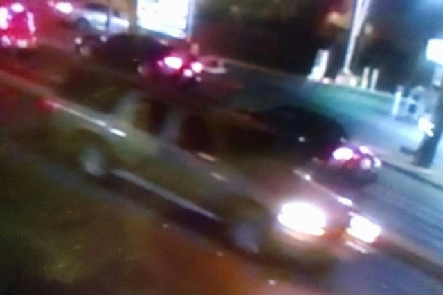 Las Vegas police are looking for this car in connection with several robberies this month. (Las Vegas Metropolitan Police Department)