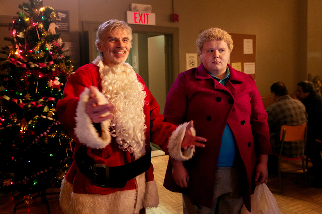 BS2-11273_CROP(l-r) Billy Bob Thornton stars as Willie Soke and Brett Kelly as Thurman Merman in BAD SANTA 2, a Broad Green Pictures and MIRAMAX release.Credit: Jan Thijs | Broad Green Pictures /  ...