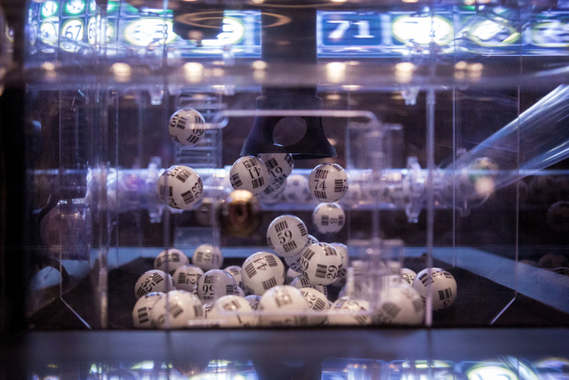 Bingo ball scramble before being called in the newly refurbished bingo hall at Santa Fe Station hotel-casino, Friday, Nov. 18, 2016, in Las Vegas. Elizabeth Page Brumley/Las Vegas Review-Journal F ...