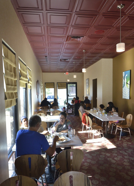 The interior of Served is shown at 1770 W. Horizon Ridge Pkwy. in Henderson on Saturday, Nov. 19, 2016. Bill Hughes/Las Vegas Review-Journal