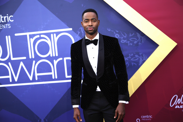 Jay Ellis walks the red carpet at the Soul Train Music Awards on Sunday, Nov. 6, 2016, at the New Orleans Arena in Las Vegas. (Rachel Aston/Las Vegas Review-Journal Follow @rookie__rae)