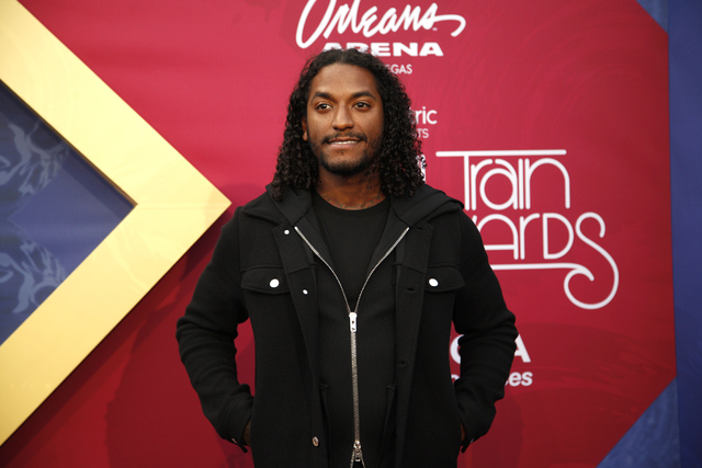 Lloyd walks the red carpet at the Soul Train Music Awards on Sunday, Nov. 6, 2016, at the New Orleans Arena in Las Vegas. (Rachel Aston/Las Vegas Review-Journal Follow @rookie__rae)