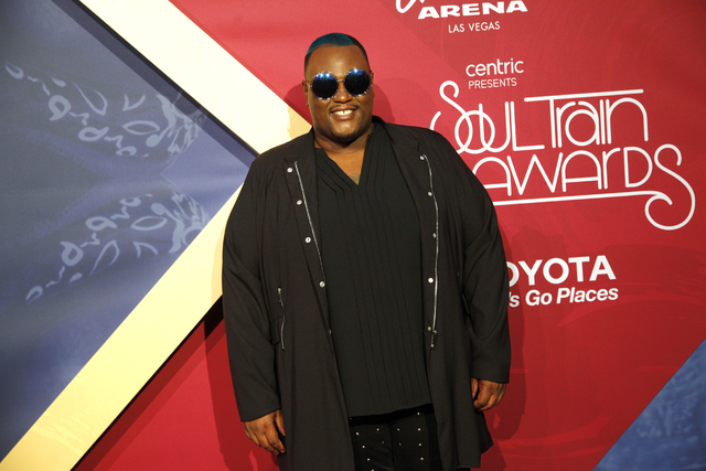 James Wright walks the red carpet at the Soul Train Music Awards on Sunday, Nov. 6, 2016, at the New Orleans Arena in Las Vegas. (Rachel Aston/Las Vegas Review-Journal Follow @rookie__rae)